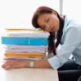 устала от работы