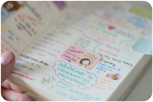 Как оформить свой личный дневник внутри своими